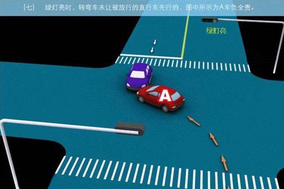 转弯车辆未让直行车辆事故的责任划分