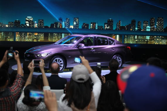 英菲尼迪Q50 2.0T车型广州车展全球首发