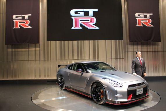 日产GT-R Nismo亮相东京车展