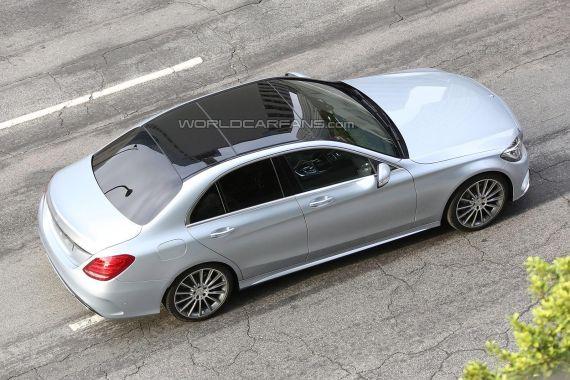Mercedes-Benz C-Class Spy 05
