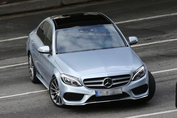 Mercedes-Benz C-Class Spy 11