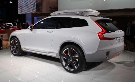 沃尔沃Concept XC Coupe亮相北美车展