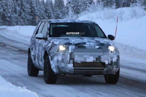 Land Rover Freelander Spy 01