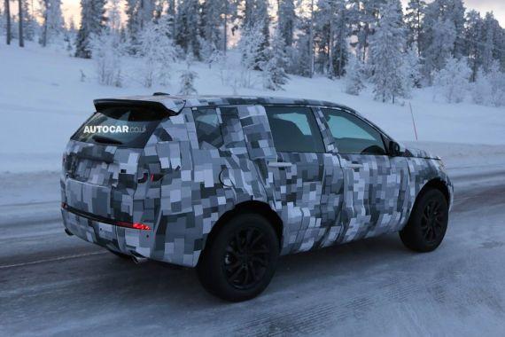 Land Rover Freelander Spy 04