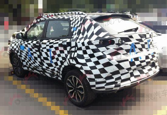 配置四驱系统 MG全新SUV细节谍照曝光