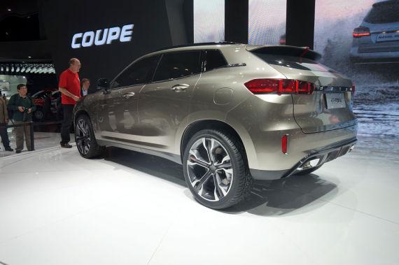 长城哈弗coupe概念车
