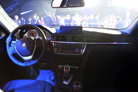 国产宝马3系xDrive版车型内饰