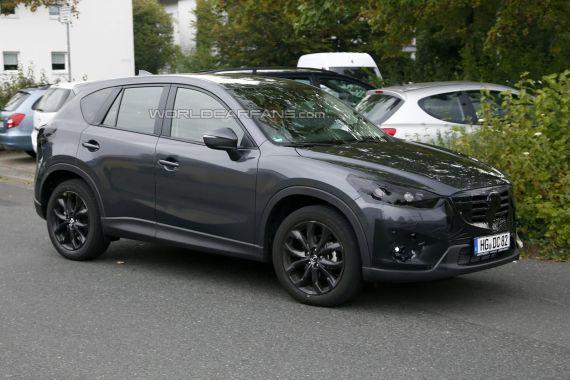 Mazda CX-5 Facelift Spy 03
