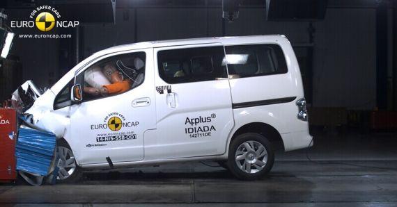 Nissan e-NV200 Evalia EuroNCAP 01