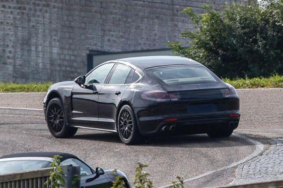 Porsche Panamera Spy 02