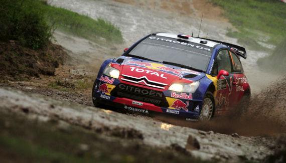 雪铁龙WRC拉力赛车