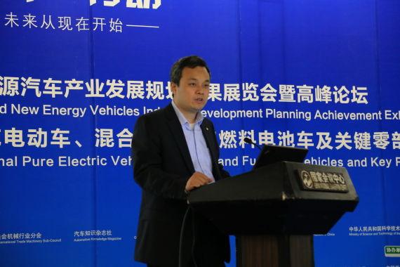 北汽集团系能源汽车管理部部长詹文章