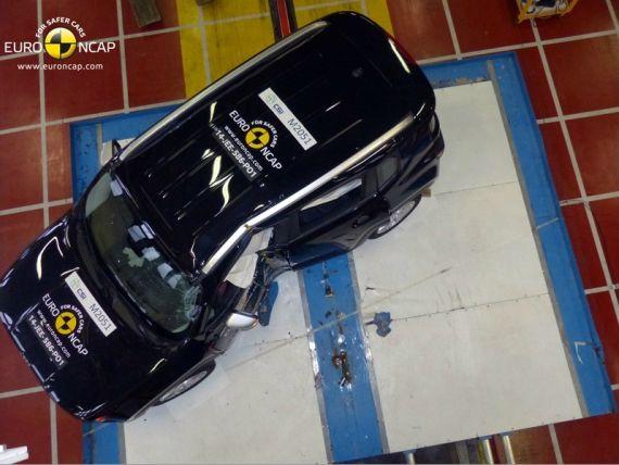 Jeep自由侠获Euro-NCAP五星最高安全评级