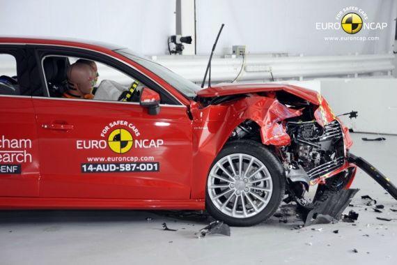 奥迪A3五门混动版获E-NCAP五星安全评级