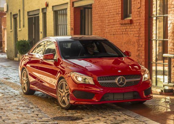 2015款奔驰CLA美国售价公布 32425美元起
