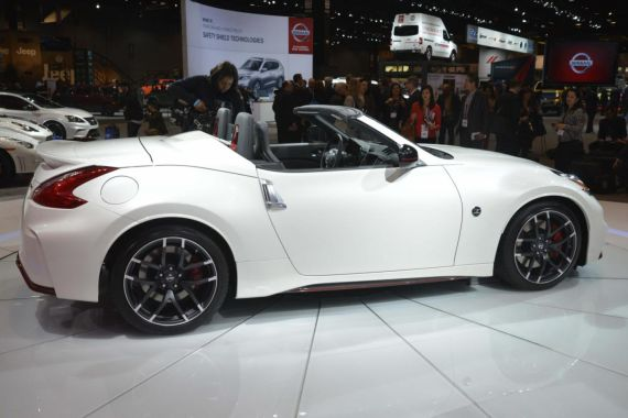 Nissan 370Z NISMO Roadster concept 03
