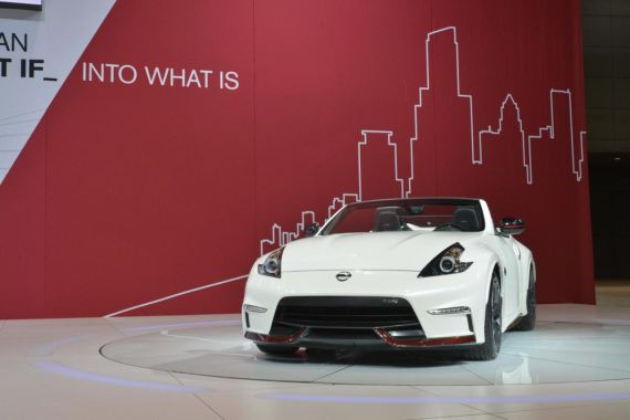 Nissan 370Z NISMO Roadster concept 06