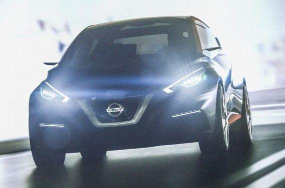 日产发布Sway概念车预热图