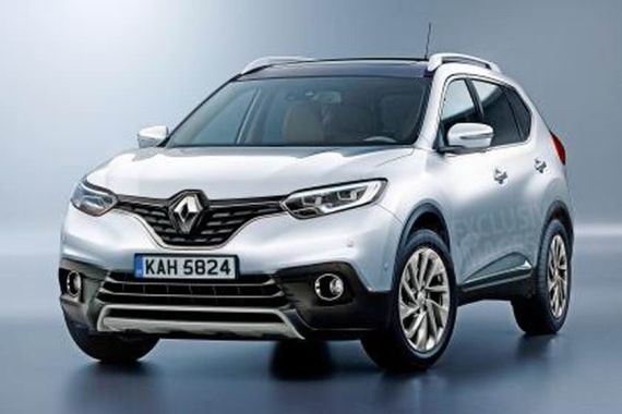 Renault 7-seater X-Trail