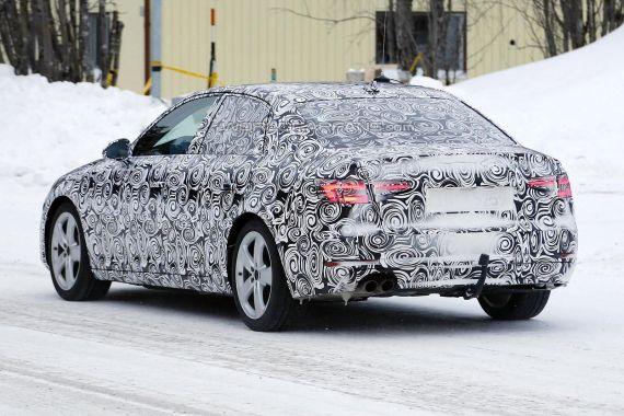 2016 Audi A4 spy photo _04