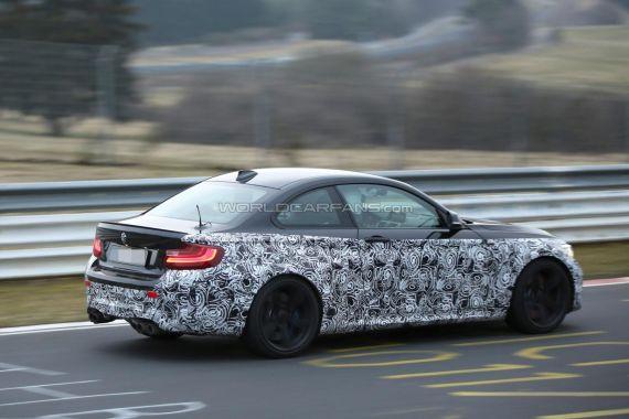 BMW M2 Coupe Spy 09