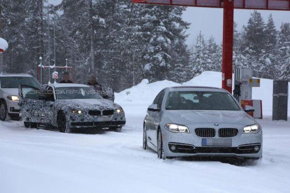 BMW 5-Series spy 03