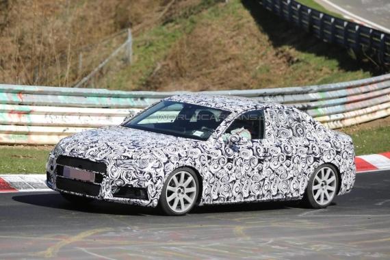 Audi S4 Sedan spy 01