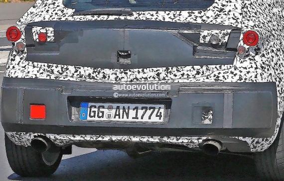 Opel Astra GSi Spy 09