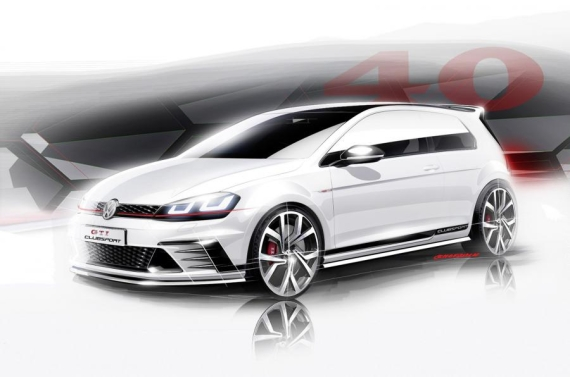 VW Golf GTI Clubsport concept 05