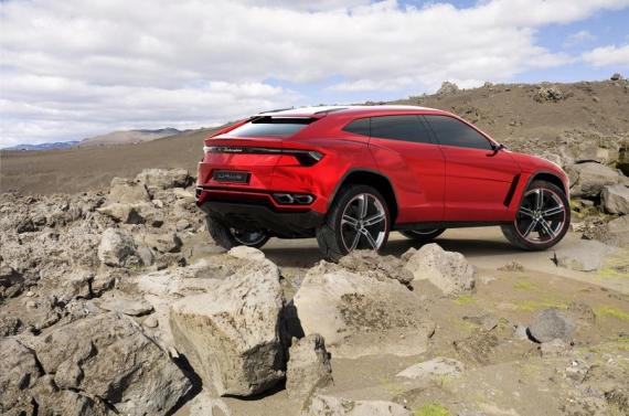 Lamborghini Urus concept 12