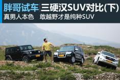 视频:[胖哥试车]130期 三硬汉SUV对比(下)