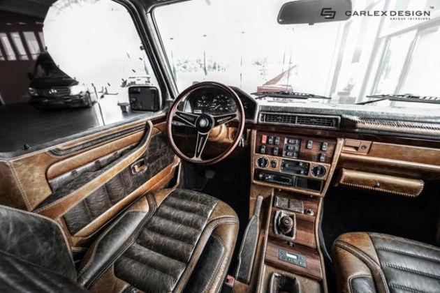 Carlex Design复古改装1990奔驰G级_车猫网