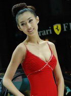08广州车展模特美女