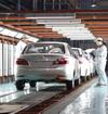 生产车间实拍夏利N5制造过程
