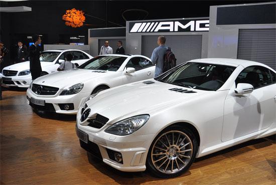 奔驰AMG三款车型成都车展亮相售99.8-256.8万