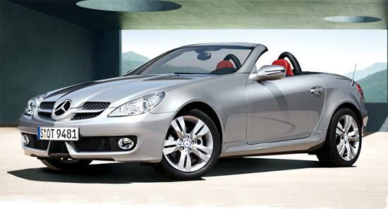奔驰SLK200优惠1万元目前售价为58.8万元