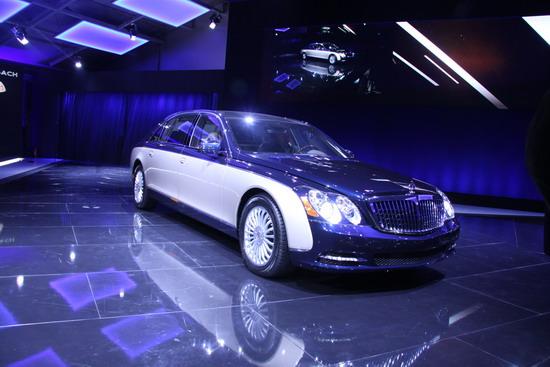 新一代青蓝迈巴赫北京车展全球首发