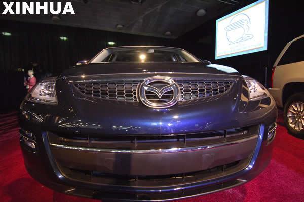 1月13日拍摄的马自达CX-9汽车新华社记者张岩摄。