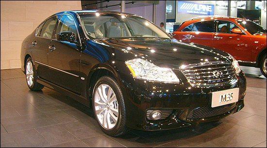 英菲尼迪08年3款新车 SUV轿车齐上阵(图)