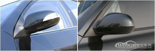 解新车 悦动与老款伊兰特内饰对比高清图片