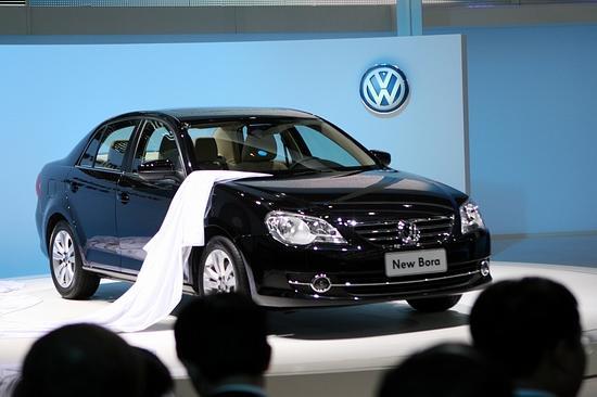 一汽大众新宝来2008年北京车展全球首发高清图片