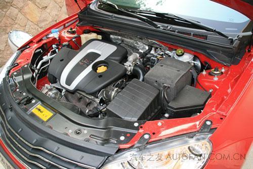 上汽荣威550发动机