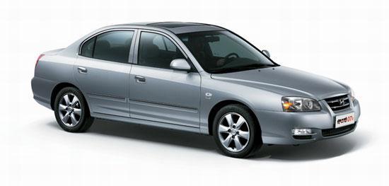 上周,北京现代汽车针对伊兰特-北现为老车型丰富配置 伊兰特索纳塔高清图片