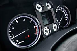 四项核心功能的控制采用了时髦的扳钮方式