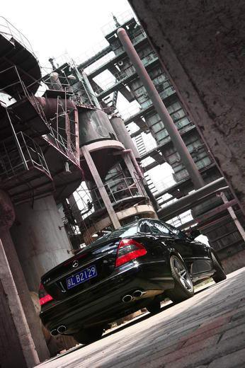 奔驰E63 AMG外观