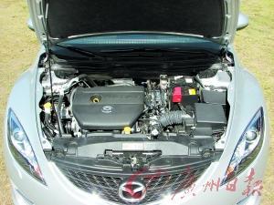 新Mazda6睿翼发动机
