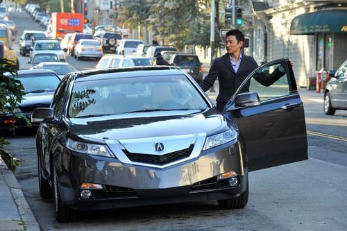 photo of Andy Lau Tak-wah Acura - car