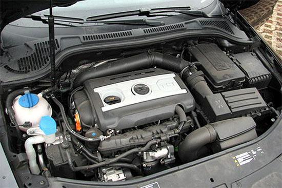 昊锐将会采用1.8 TSI涡轮增压发动机和2.0 TSI涡轮增压发动机