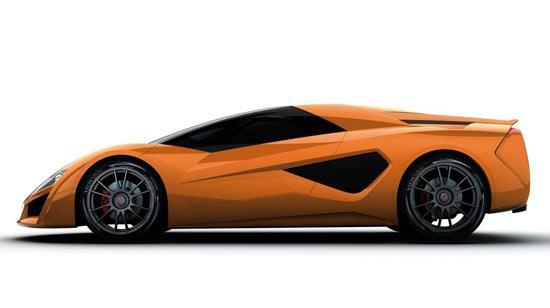 全球最快混合动力车Giugiaro Namir亮相日内瓦