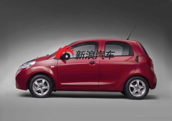 瑞麒M1将在上海车展正式亮相